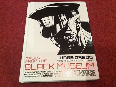 2000 AD Judge Dredd The Mega collection vol 78 Tales from the black Museum
