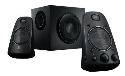 Logitech Z623 Black - 2.1 Speaker Set - THX - 200W RMS - Stereo (980-000403)