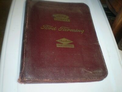 1948 Ford Tractor Dealer Book Manual Sales Original Rare