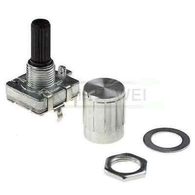 12mm Rotary Encoder Switch Flat-Top Knob NEW