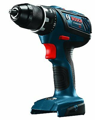 """BOSCH DDS181AB-RT 18V Li-Ion 1/2"""" Cordless Compact Drill Driver TOOL ONLY"""