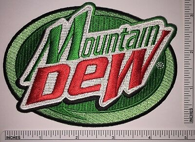 Mountain Dew Pepsi Co. Patch Soft Drink Mtn Dew Citrus-Flavored Diet Cola Patch