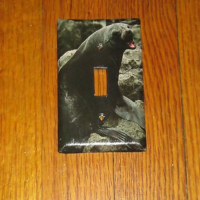 Wild Animal Guadalupe Fur Seal Light Switch Cover Plate