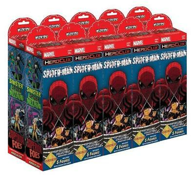 HorrorClix Superior Foes of Spider-Man (Brick - 10 Packs) Box SW