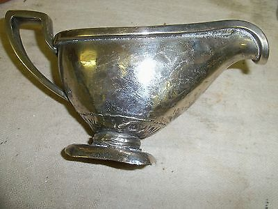 Silver plated jug asian 17x9x7cm