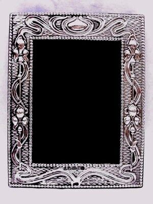 Splendid Large Finest 999 Quality Hallmarked Silver London Britannia Photo Frame