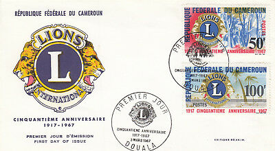(06772) Cameroon FDC Lions International Douala 3 March 1967
