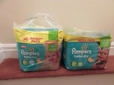 Pampers  Baby Nappies  6+