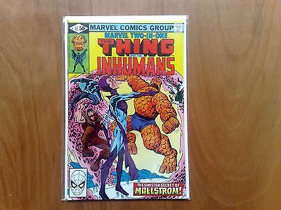 Marvel Two-In-One The Thing & The Inhumans #72 Feb. 1981 Fine Copy Stan Lee