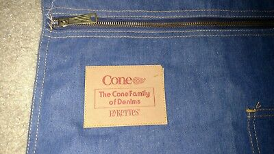 The Cone Family Pykettes vintage denim bag