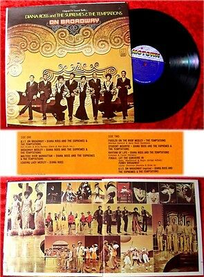 LP Diana Ross and Supremes Temptations On Broadway TV S
