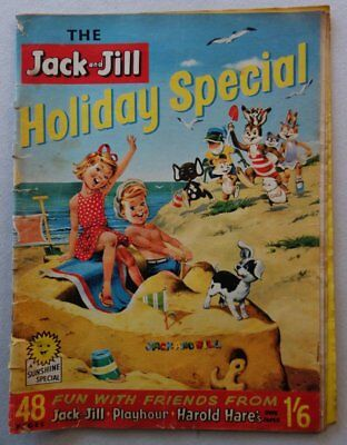 Jack and Jill Holiday Special comic 1962 #1 or #2 Incomplete (phil-comics)