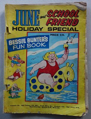 June and School Friend comic Holiday Special c late 1960s PR/FR (phil-comics)
