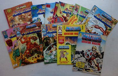 Masters of the Universe He-Man comic #2-24 (1987-90) x 14 FN 1 GIFT (phil-comics