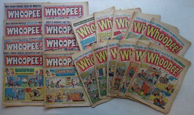 Whoopee comic 1975-1978 x 29 Most G/VG to VG (phil-comics)
