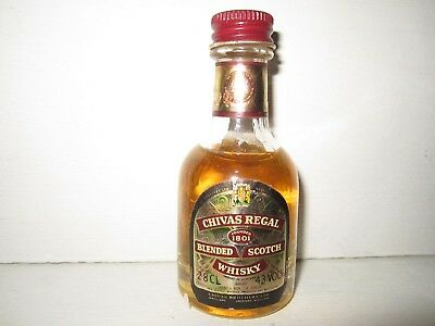 miniature mignon whisky CHIVAS REGAL 1801   12 years old
