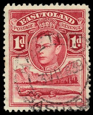 "BASUTOLAND 19 (SG19) - King George VI ""Nile Crocodile"" (pf84483)"