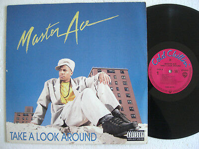 MASTER ACE * Take a Look Around * COLD CHILLIN LP 1990