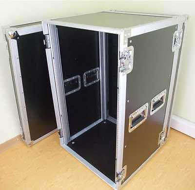 18 HE ROADINGER RACK 47 CM TIEF Verstärker Endstufen Server Rack PA Flight Case