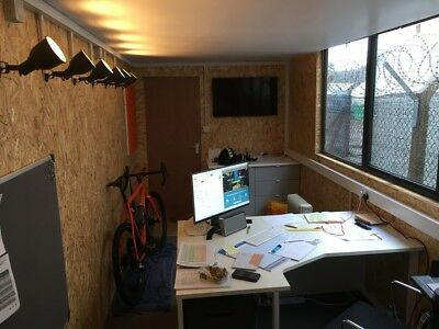 40ft shipping container office conversion40'