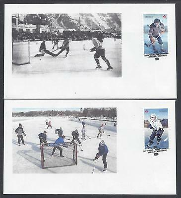 2017 History of Hockey Limited FDCs with BK stamps