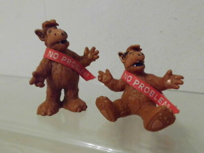 Alf Bully W.Germany 1988 2 x Figur Set No Problem: stehend + sitzend