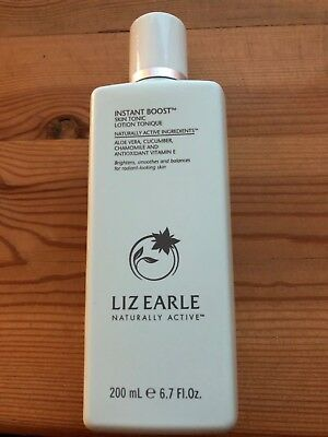 Liz Earle Instant Boost SKIN TONIC 200ml FULL SIZE  FREE POST