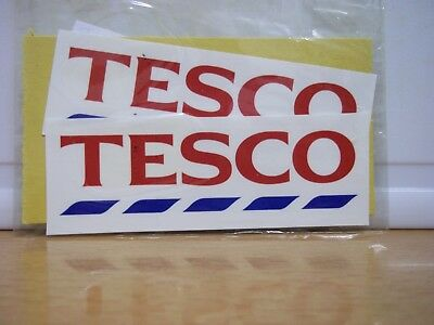 Truck Decals waterslide Tesco ( T2 )