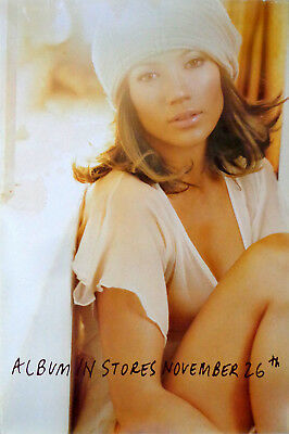 Jennifer Lopez - This Is Me... Then (2002) original promo poster s-sided rolled