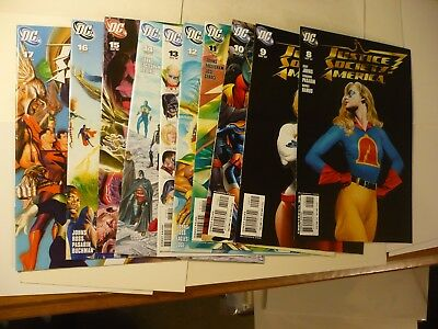 Justice Society of America 8 - 17 Complete Run 50A