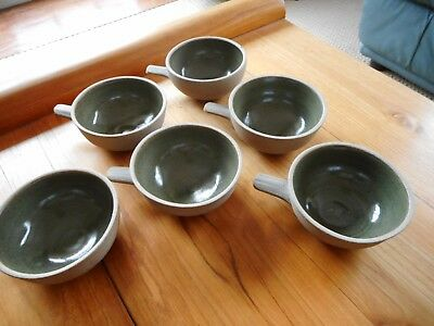 Rare set of GEOFFERY WHITING studio pottery bowls