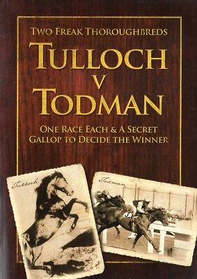 4 Horse Racing Books Including Tulloch Versus Todman Plus More!!!