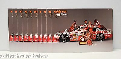 Lot Of 10 Hooters Ford Thunderbird Racing Team 1993 Nascar Alan Kulwicki Card