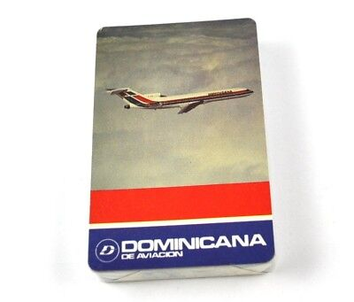 Dominicana Airlines USA Spielkarten Flugzeug Airline Playing Cards