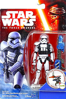 First Order Stormtrooper Squad Leader Star Wars The Force Awakens Von Hasbro