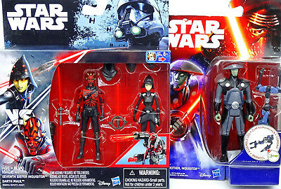 Seventh Sister, Darth Maul & Fifth Brother Für Auspacker Star Wars Rebels Hasbro