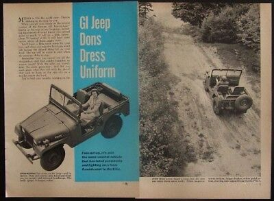 WILLYS-OVERLAND JEEP 4th Generation M38A1 1952 review