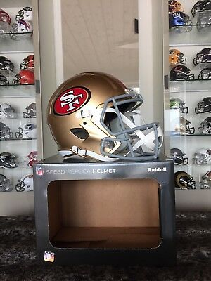 NFL Football Full Size Speed Helm SAN FRANCISCO 49ers Riddell neu &OVP