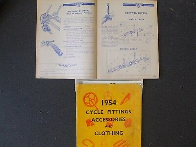 Cycling Memorabilia Simplex/huret 1950S Catalogues