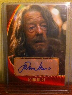 TOPPS John Hurt Indy Jones Autograph Auto Card.day Of Thr DR WHO  NOT Signature