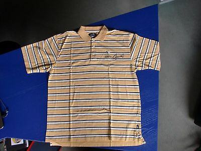 Emirates Golf Club Poloshirt, Asworth, signiert / signed, Seve Ballesteros