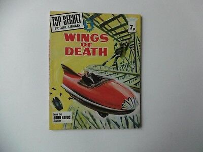 'Top Secret Picture Library No.1, Wings Of Death'. 1974.