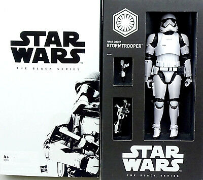 "First Order Stormtrooper Sdcc Exclusive 6"" Inch Star Wars Black Series Hasbro"
