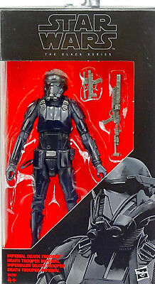 "Imperial Death Trooper Rogue One 6"" Inch Star Wars Black Series Von Hasbro"