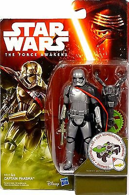 Star Wars The Force Awakens Captain Phasma Jungle Gear Wave 1 Hasbro /disney Neu