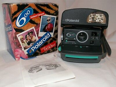 Polaroid 600 Instant Kamera  ♦ LIVE FOR THE MOMENT ♦ in OVP mit Anleitung ♦