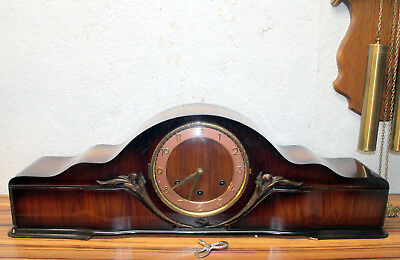 Antique Large Table Clock  Mantel clock Westminster melodie XL Clock