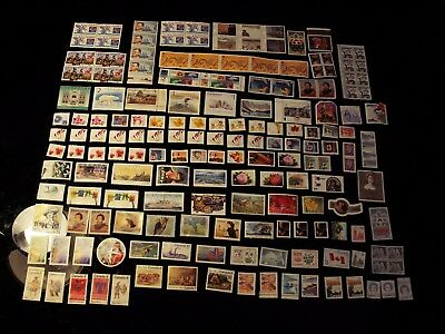 Canada -  $77.50 Face Value  Of Mint No Gum Uncancelled Lot Assorted Up To $5.00