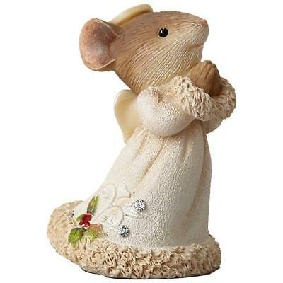 Heart of Christmas Mouse Angel Figurine Nativity Add On 4038671 Enesco Hahn