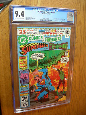 DC Comics Presents #26 CGC 9.4 1st app of New Teen Titans